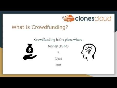 Kickstarter Clone | Crowdfunding Script: Get started with fundraising business