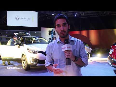 Nueva Renault Captur. Salón Internacional del Automóvil de Bogotá 2016.