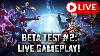 MARVEL Super War - Closed Beta Test #2: Live Gameplay!