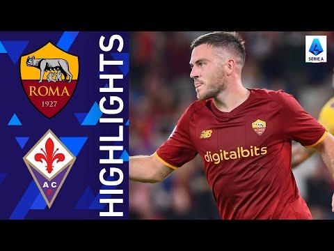 Roma 3-1 Fiorentina | Roma get their Mourinho era underway! | Serie A 2021/22