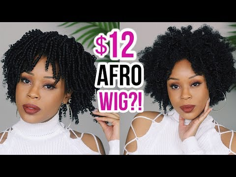 $12 NATURAL LOOKING AFRO?! Watch Me Transform Wig | Outre Big Beautiful Hair 4C Coily 😍