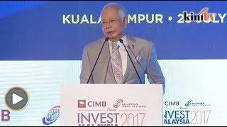 1MDB critics blew up issues to topple gov't, Najib tells investors