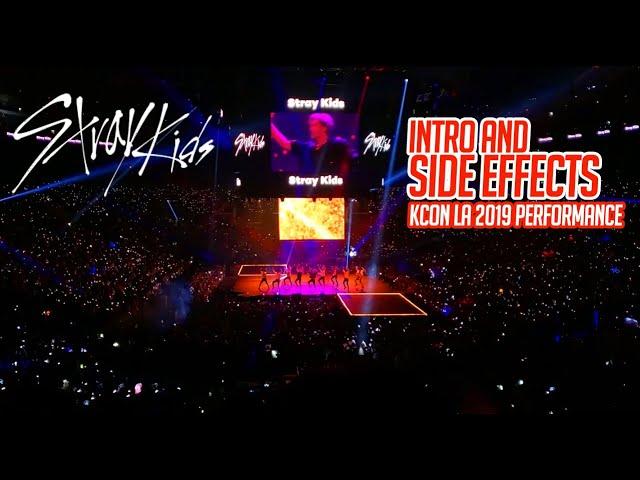 STRAY KIDS - Intro and Side Effects Performance KCON LA 2019 - FAN CAM