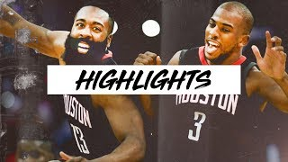 James Harden & Chris Paul Best Plays Round 1 & 2 NBA Playoffs | Clip Session