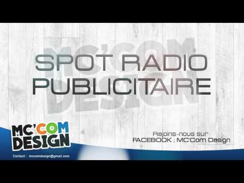 Spot radio publicitaire de notre agence - MC Com Design