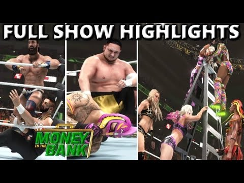 Download WWE 2K19 MONEY IN THE BANK 2019 FULL SHOW PREDICTION HIGHLIGHTS - PART 3