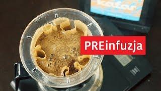 Preinfuzja: porady i błędy. Kiedy parzyć kawę z preinfuzją? Czajnikowy.pl