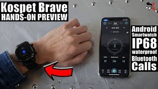 Kospet Brave PREVIEW: IP68 Wateproof Android Smartwatch