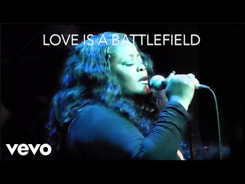 Maysa - Love Is A Battlefield (Lyric Video)