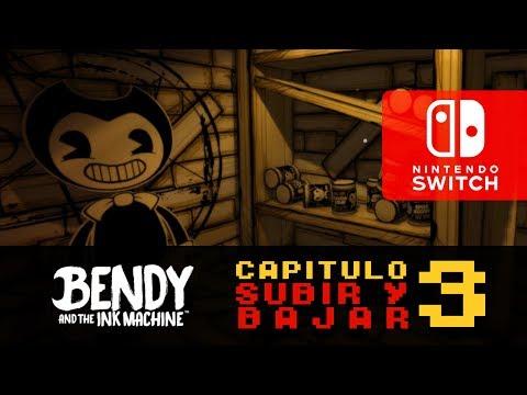 Bendy And The Ink Machine Para Nintendo Switch   Capitulo 3 : Subir Y Bajar   Directo En Español