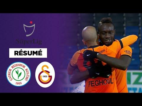 Résumé : Un triplé de Diagne et Galatasaray écrase Rizespor