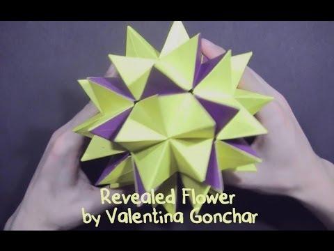 Kusudama Revealed Flower By Valentina Gonchar Part 1 Of 2