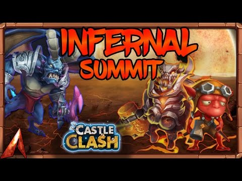 Castle Clash Infernal Summit Victories!