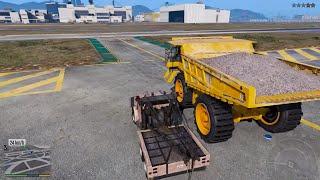GTA 5 - Đi kéo xe vi phạm trong thành phố và những thí nghiệm với xe kéo | ND Gaming