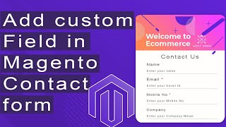 How to add custom field in magento contact form | By Geeky Banna