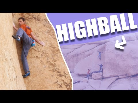 Remember Outdoor Climbing? | Scary First Ascent Bouldering