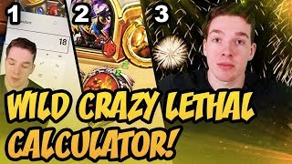 Wild Crazy Lethal Calculator! | Rastakhan's Rumble | Hearthstone