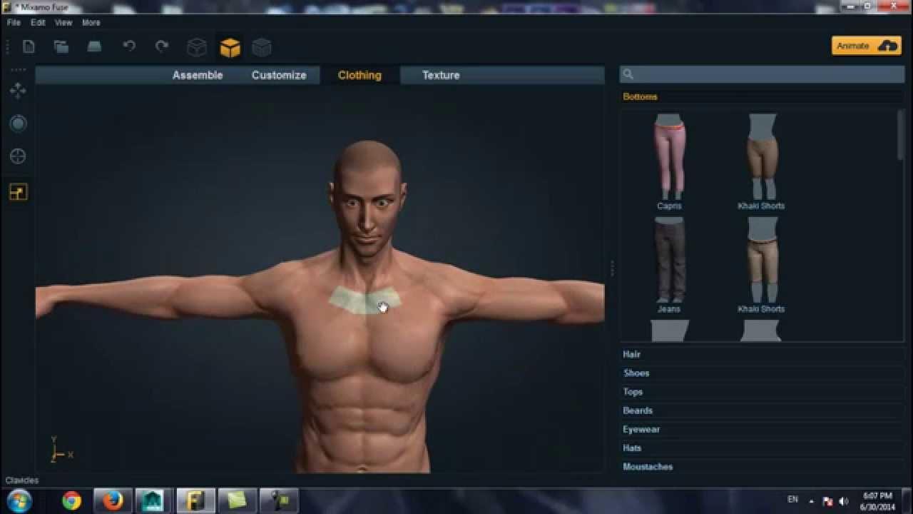 Программа для создание персонажа