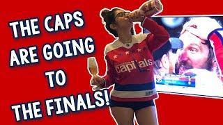 Reacting to the Caps Winning!