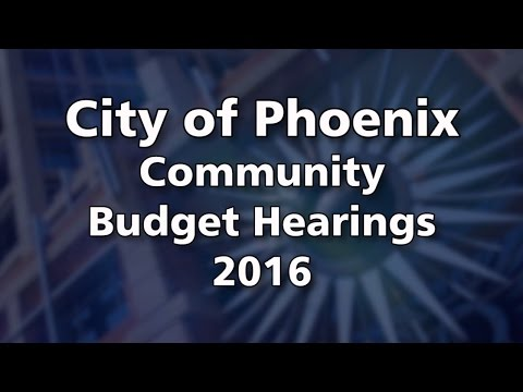 Community Budget Hearing at Country Place Elementary School April 11, 2016