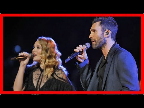 'the voice' finalist addison agen and coach adam levine belt out oscar-winning duet 'falling slowly