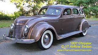 1937 Chrysler Airflow For Sale. Charvet Classic Cars