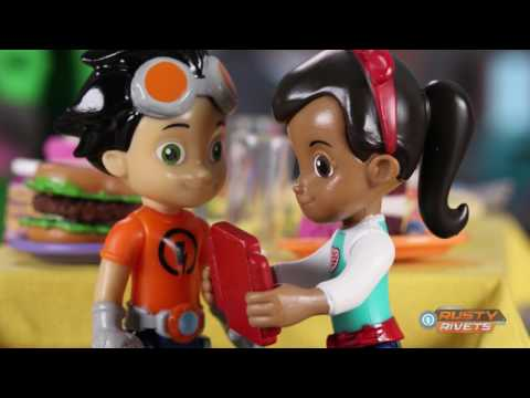 Spin Master | Rusty Rivets Countdown - 3 Weeks Til Toys!!