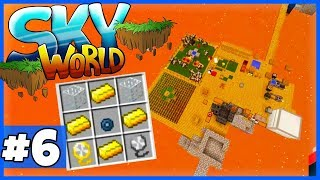 """CREATIVE Mode FLIEGEN! (+ Bat & Ghast Farm für alle) - Minecraft """"SKY WORLD"""" #6"""