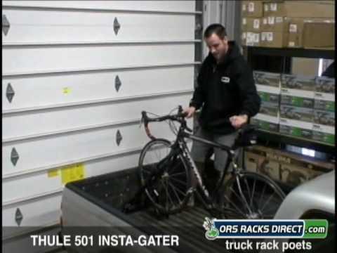thule 501 insta gater bike rack review video demo