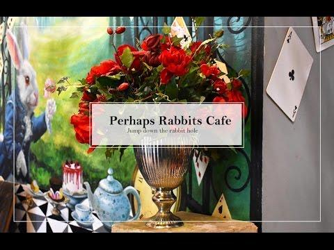 Alice in Wonderland Café in Bangkok - Visit Perhaps Rabbits' Café