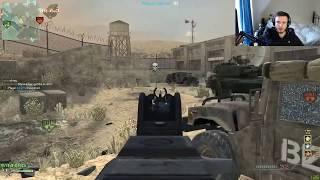 AK74-U MOABS IN MW3! (Hardcore server, the gun isn