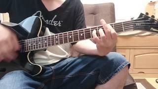 弾いてて気持ちイイ❕ 6連符が決まればさらに楽しい❗ 最後のギターソロ、急に終わる感じも好き   訳あって若干、音と映像に遅延があります...