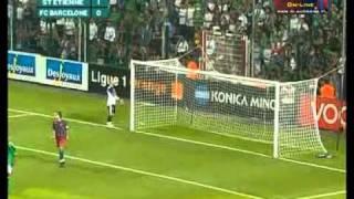 Saint-Etienne 2 - 1 FC Barcelone (2005)