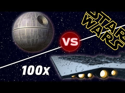 The Death Star vs 100 Super Star Destroyers | Star Wars: Who Would Win