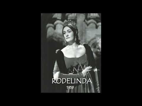 Joan Sutherland Händel's Rodelinda 1959