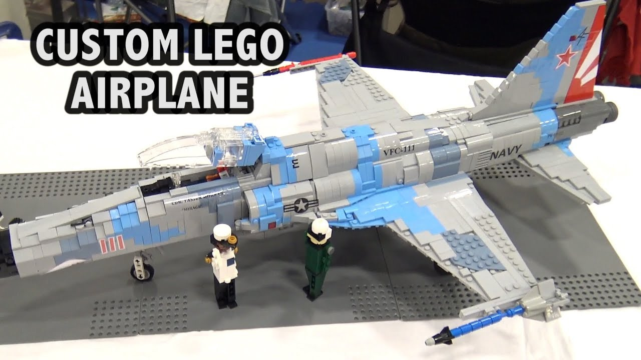 LEGO Northrop F 5 Tiger Fighter Jet   US Navy Airplane   YouTube LEGO Northrop F 5 Tiger Fighter Jet   US Navy Airplane