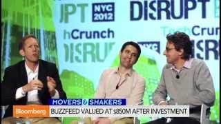 BuzzFeed Valued at $850M by Andreessen Horowitz