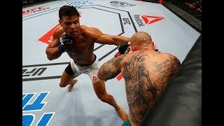 """UFC 217: Relembre as duas vitórias de Paulo """"Borrachinha"""""""