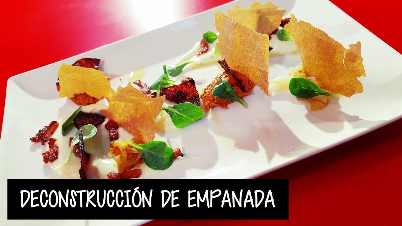 Deconstrucci n de empanada berciana experiencia de la for Deconstruccion culinaria