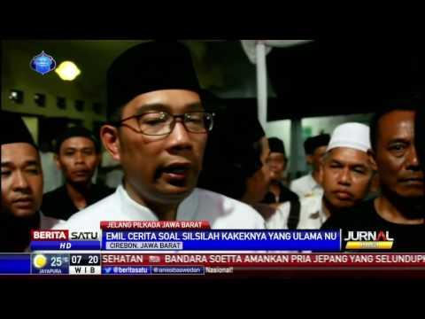 Ridwan Kamil Minta Restu Ulama Cirebon
