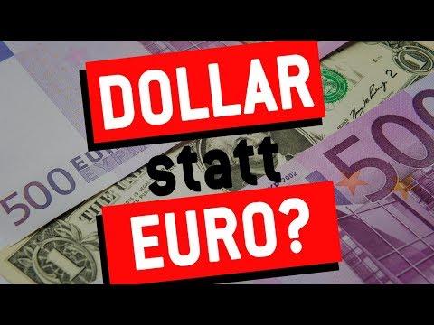 US-Aktien Kaufen Wegen Euro-Absturz?