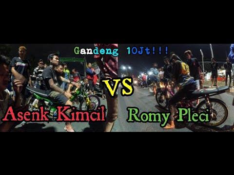 ASENK KIMCIL VS ROMY PLECI Gandeng 10jt!!!