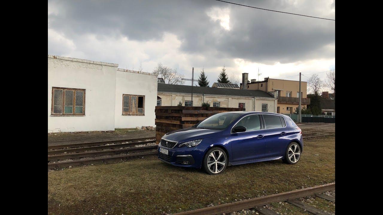 Peugeot 308 GT 2.0 BlueHDi 180 AT8 test PL Pertyn Ględzi