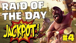RAID OF THE DAY #4 - THE LAST EL PRIMO WIZ TH12 | Mister Clash - CLASH OF CLANS