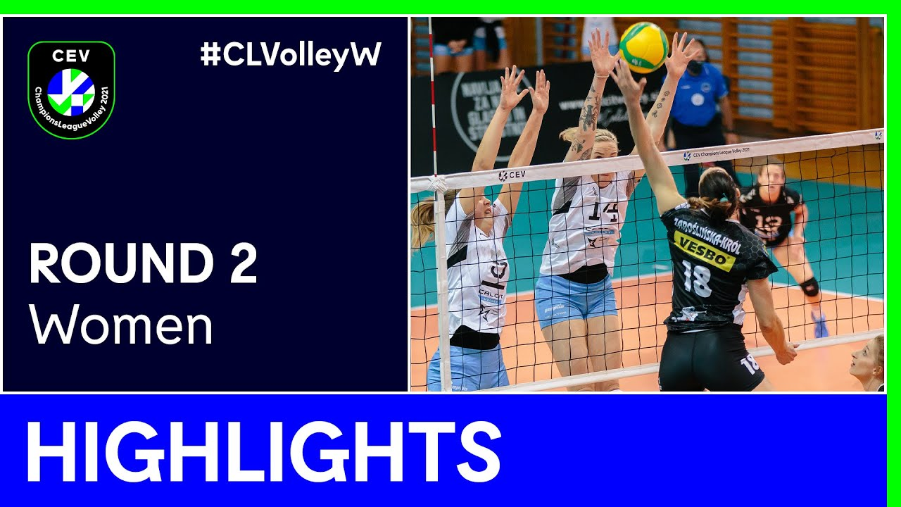 Calcit Volley KAMNIK vs. ŁKS Commercecon ŁÓDŹ Highlights - #CLVolleyW