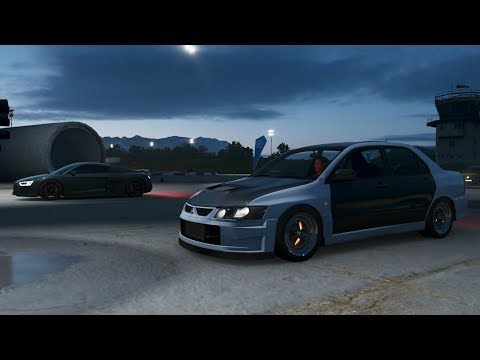 Forza Horizon 4:600HP Evo 8   Cruise + Drag Battles w/ Audi R8, Turbo Integra, SBF Foxbody & More thumbnail