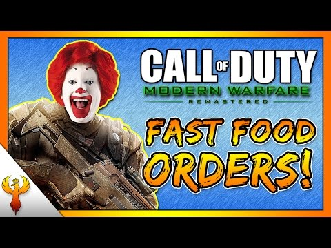 Taking Fast Food Orders on Call of Duty! #45 (Modern Warfare Remastered)