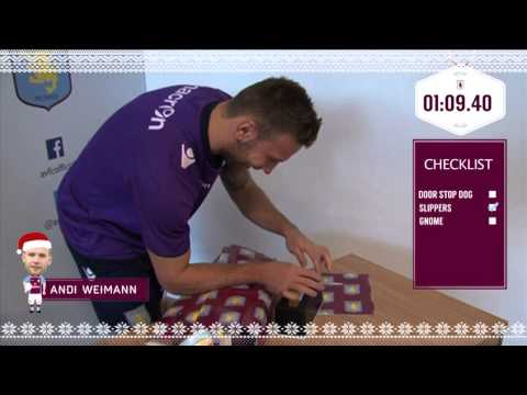 Villa's Xmas wrapping challenge: Andreas Weimann