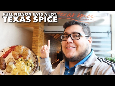 Breakfast Buffet at Texas Spice | Dallas, Texas | Full Nelson Eats A Lot