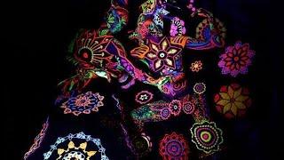 HULANKI/ FOLK REVELRIES/ UV folk performance / Art Color Ballet